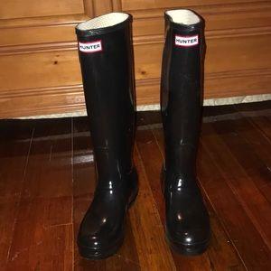 Original Hunter Rain boots Black